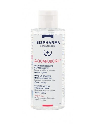 IsisPharma Aqua Ruboril Solution Micellaire Démaquillante 100ml