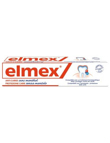 Elmex Dentifrice Anti-Caries Sans Menthol - 75 ml