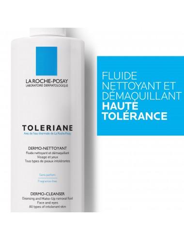 La Roche Posay Toleriane Fluide nettoyant et démaquillant peaux sensibles à intolérantes 400ml