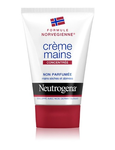 Neutrogena crème mains concentrée sans parfum
