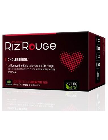 Santé Verte Levure Riz Rouge 60 Comprimés