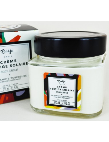 Baïja Crème Corps Vertige Solaire Bergamote Tubéreuse 212ml