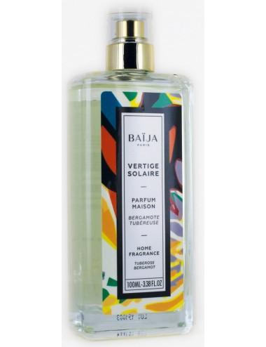 Baïja Parfum d'intérieur Vertige Solaire Bergamote Tubéreuse 100ml
