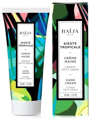 Baïja Crème Mains Sieste Tropicale Cédrat et Petit Grain 30ml