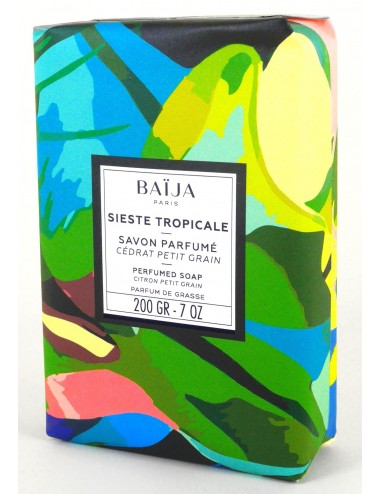 Baïja Savon solide Sieste Tropicale 200g
