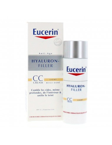 Eucerin Hyaluron-Filler CC Cream Light 50ml