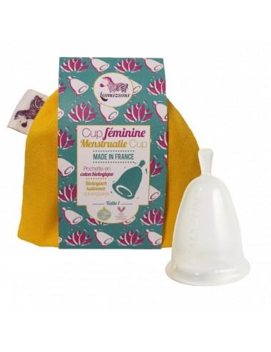 Lamazuna cup féminine jaune taille 1