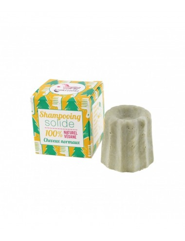 Lamazuna Shampooing solide Cheveux normaux aux Pin Silvestre 55g