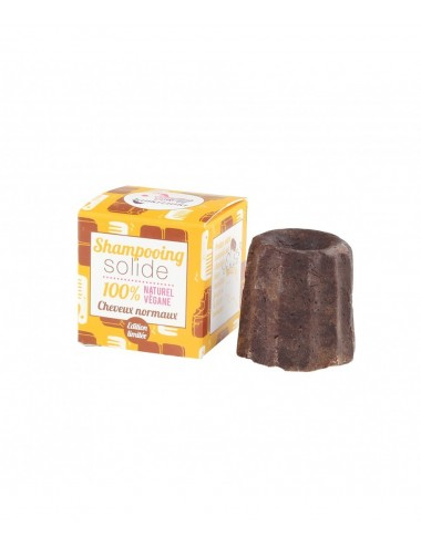 Lamazuna Shampooing solide chocolat cheveux normaux 55g