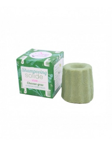 Lamazuna Shampooing solide herbes folles cheveux gras 55g