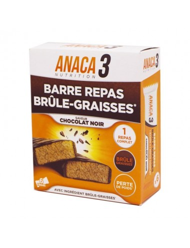 Anaca3 Barre Repas Brûle-Graisses 6 barres