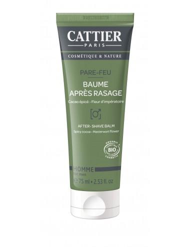 Cattier Baume Après Rasage Pare-Feu 75ml