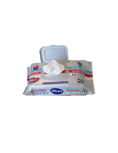 Sleepy Lingettes nettoyantes désinfectantes - Sachet de 100