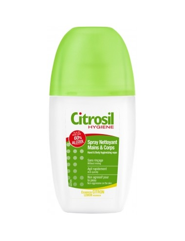 Citrosil Spray Hydroalcoolique Mains Essence Citron 75ml