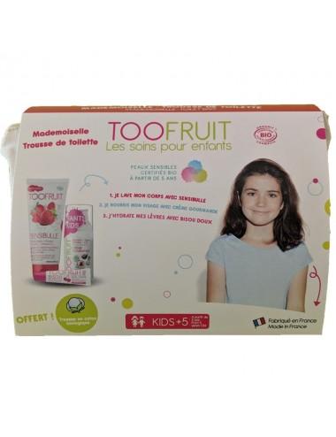 Toofruit Ma Première Trousse de Toilette Mademoiselle