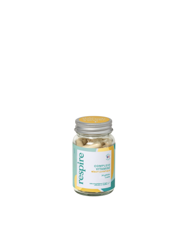 Respire Vitamines Anti-Fatigue 30 gélules