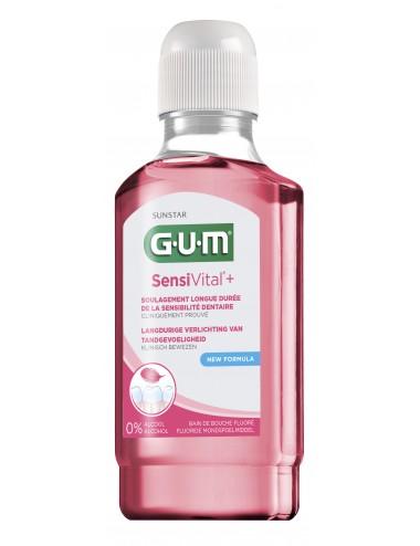 Gum Bain de bouche Sensivital+ 300ml