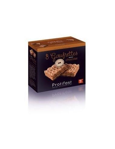 Protifast gaufrettes chocolat x4