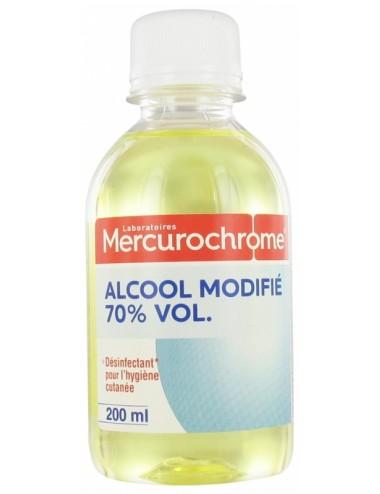 Mercurochrome Alcool Modifié 70% Vol 200 ml