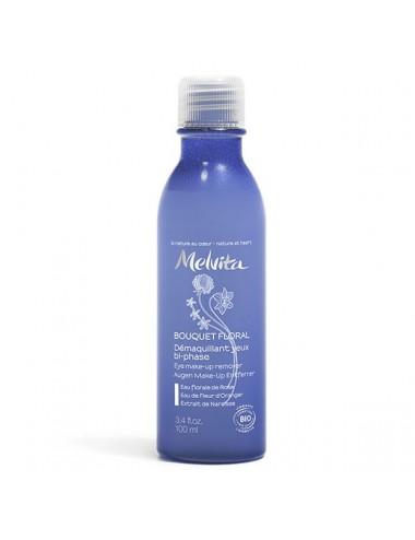 Melvita Bouquet Floral Démaquillant Yeux Bio bi-phase 100 ml
