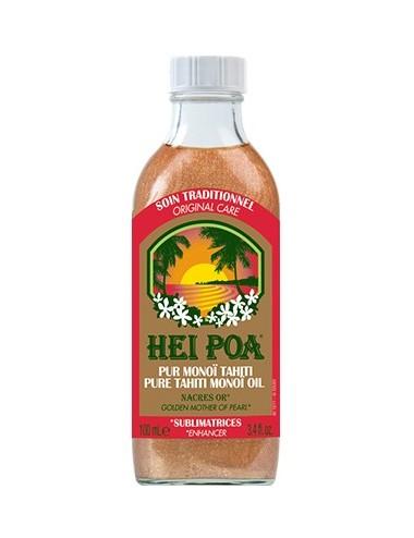Hei Poa Pur Monoï Tahiti Nacres Or Sublimatrices 100 ml