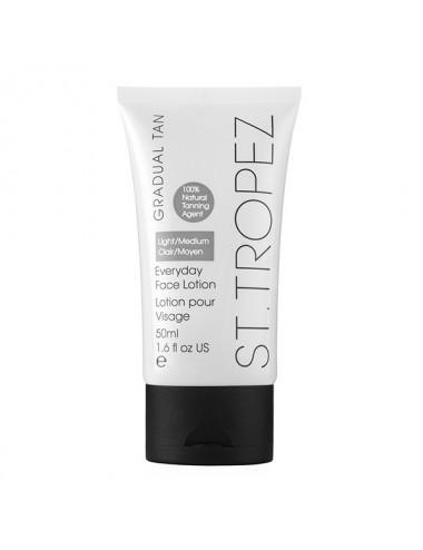 St Tropez lotion de bronzage progressif gradual tan visage clair/moyen 50ml