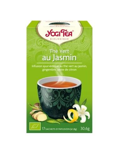 Yogi Tea Infusions Bio Thé Vert au Jasmin 17 Sachets