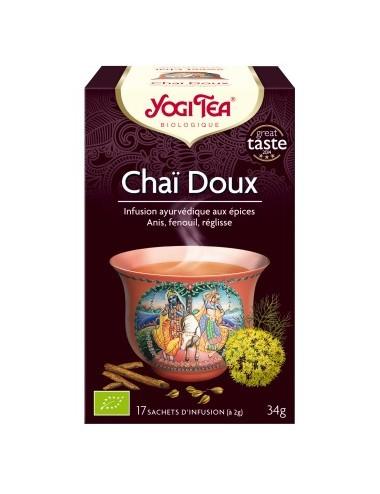 Yogi Tea Infusions Bio Chai Doux 17 Sachets