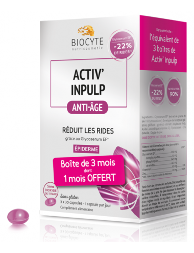 Biocyte Activ Inpulp 3x30 Capsules