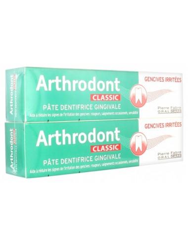Arthrodont Classic Pâte dentifrice gingivale 75ml x2