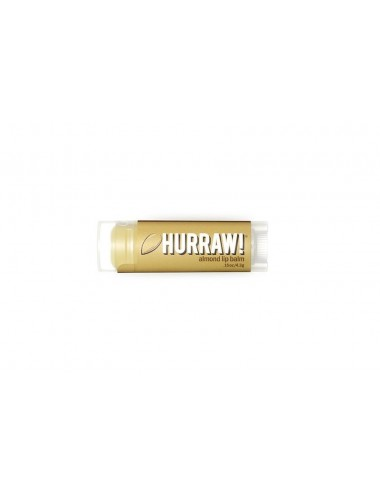 Hurraw Baume à Lèvres Végan Amande 4,3g