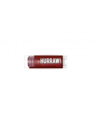 Hurraw Baume à Lèvres Végan Teinté Cerise Noire 4,3g
