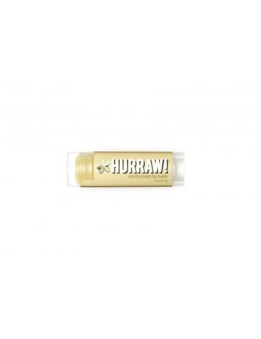 Hurraw Baume à Lèvres Végan Vanille 4,3g