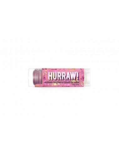 Hurraw Baume à Lèvres Végan teinté Framboise 4,3g