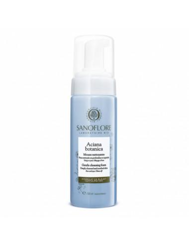 Sanoflore Aciana botanica Mousse nettoyante visage et yeux 150 ml