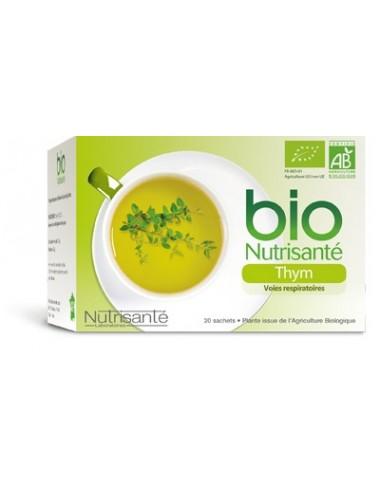 Nutrisanté Infusion Bio Thym 20 Sachets