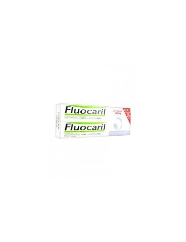 Fluocaril Dentifrice Blancheur Bi-Fluoré Lot de 2 x 75ml