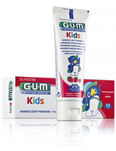 Gum Dentifrice Enfants Kids 2-6 ans 50ml