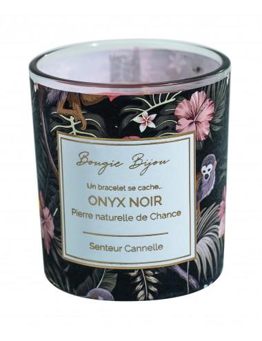 Bougie Bijou Onyx Noire