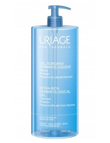 Uriage Gel Surgras Liquide Dermatologique - Flacon pompe 1L