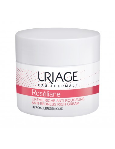 Uriage Roséliane - Crème Riche Anti-Rougeurs - Pot 40ml