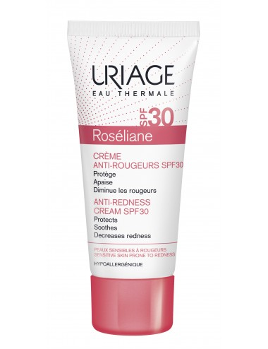 Uriage Roséliane - Crème Anti-Rougeurs SPF30 - Tube 40ml