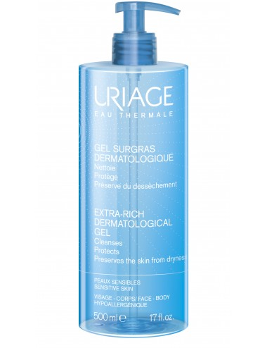 Uriage Gel Surgras Liquide Dermatologique - Flacon 500ml