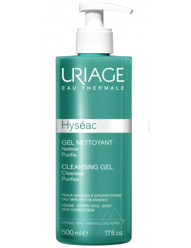 Uriage Hyséac - Gel Nettoyant - Tube 500 ml