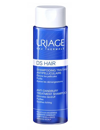 Uriage DS Hair - Shampooing Traitant Antipelliculaire - Flacon 200ml