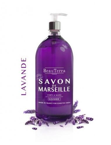 Beau Terra savon de Marseille à la Lavande 1 L