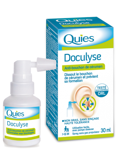 Quies Doculyse spray céruménolytique 30ml