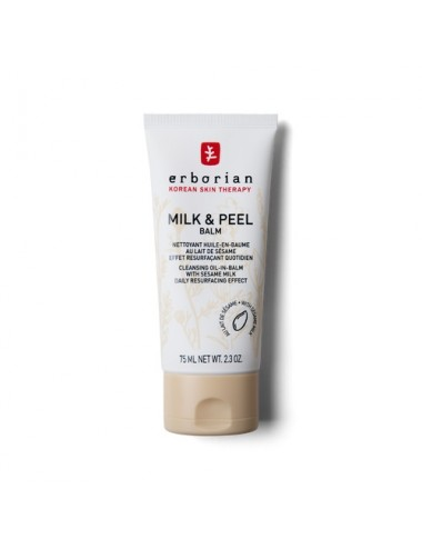 Erborian Milk & Peel balm Nettoyant Huile-en-Baume 75ml