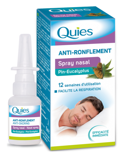 Quies spray nasal Eucalyptus anti ronflement 15ml