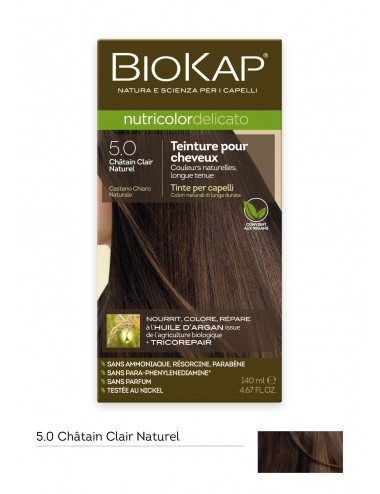Biokap  Delicato 5.0 Chatain Clair Naturel 140ml